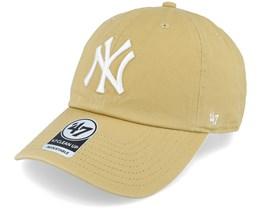 New York Yankees Clean Up Tan Adjustable - 47 Brand