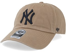 New York Yankees Clean Up Khaki Navy Adjustable - 47 Brand 273c51a4bf1
