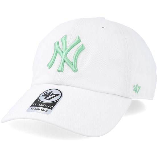 c30944c15cf46 New York Yankees Clean Up White Hemlock Adjustable - 47 Brand caps -  Hatstoreaustralia.com