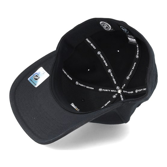 2219cb03b81af Anaheim Ducks Contender Black Flexfit - 47 Brand cap - Hatstore.co.in