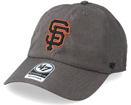 San Francisco Giants Fury 47 Clean Up Dark Grey Adjustable - 47 Brand 7aefc0917ffb