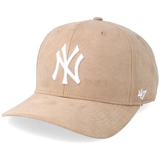 2c6f4d537 New York Yankees Ultrabasic Strap TT Khaki/White Adjustable - 47 Brand