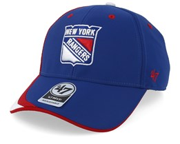 New York Rangers Zone 47 Mvp Royal/Red/White Adjustable - 47 Brand