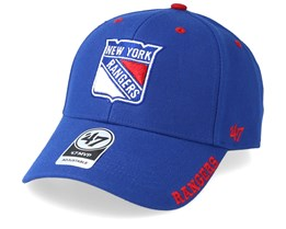 New York Rangers Defrost 47 Mvp Black Royal/Red Adjustable - 47 Brand