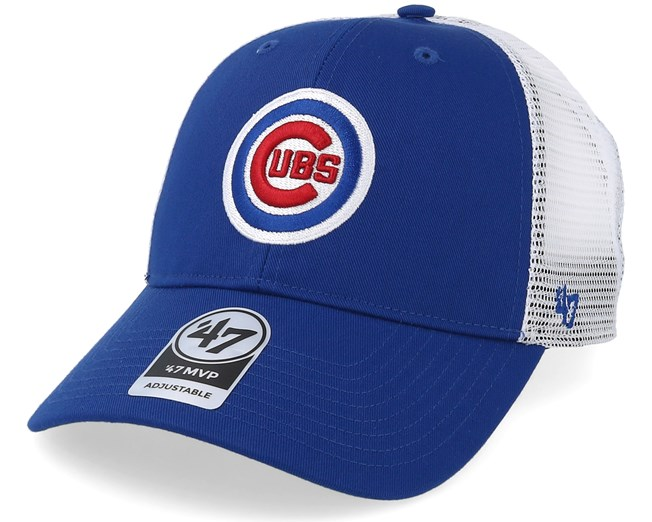 5864e1d3eb7 Chicago Cubs Branson Mesh Royal Trucker - 47 Brand caps - Hatstoreworld.com