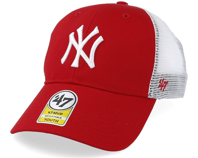 ´47 Branson Trucker Cap NHL New York Rangers Eishockey