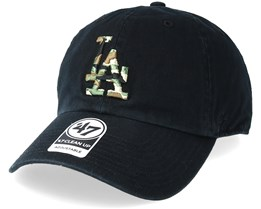 Los Angeles Dodgers Camfill Black/Camo Adjustable - 47 Brand