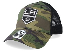 Los Angeles Kings 47 Mvp Camo/Black Trucker - 47 Brand