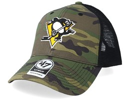 Pittsburgh Penguins 47 Mvp Camo/Black Trucker - 47 Brand