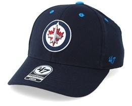 Winnipeg Jets Kickoff 47 Contender Wool Navy Flexfit - 47 Brand