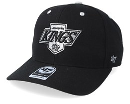 Los Angeles Kings Audible 47 Mvp Vintage Black Adjustable - 47 Brand