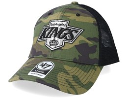 Los Angeles Kings Branson 47 Mvp Mesh Camo Trucker - 47 Brand