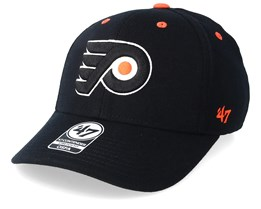 Philadelphia Flyers Kickoff Wool 47 Contender Black/Orange Flexfit - 47 Brand
