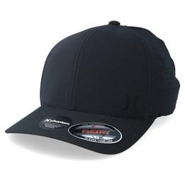 cheaper d4bf6 24957 Hurley Dri-Fit Cutback Black Black Flexfit - Hurley £34.99