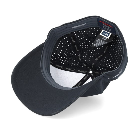 78ff54ff11648 Dri-Fit Cutback Black Black Flexfit - Hurley caps - Hatstoreworld.com