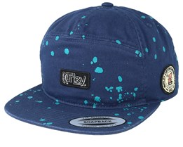 Punked Up Blue Snapback - Hurley
