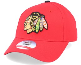 Kids Chicago Blackhawks Locker Room Red Adjustable - Outerstuff