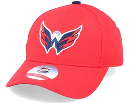 Kids Washington Capitals Locker Room Red Adjustable - Outerstuff