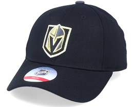 Kids Vegas Golden Knights Locker Room Black Adjustable - Outerstuff
