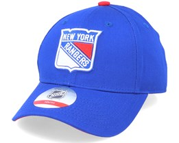 Kids New York Rangers Locker Room Royal Adjustable - Outerstuff