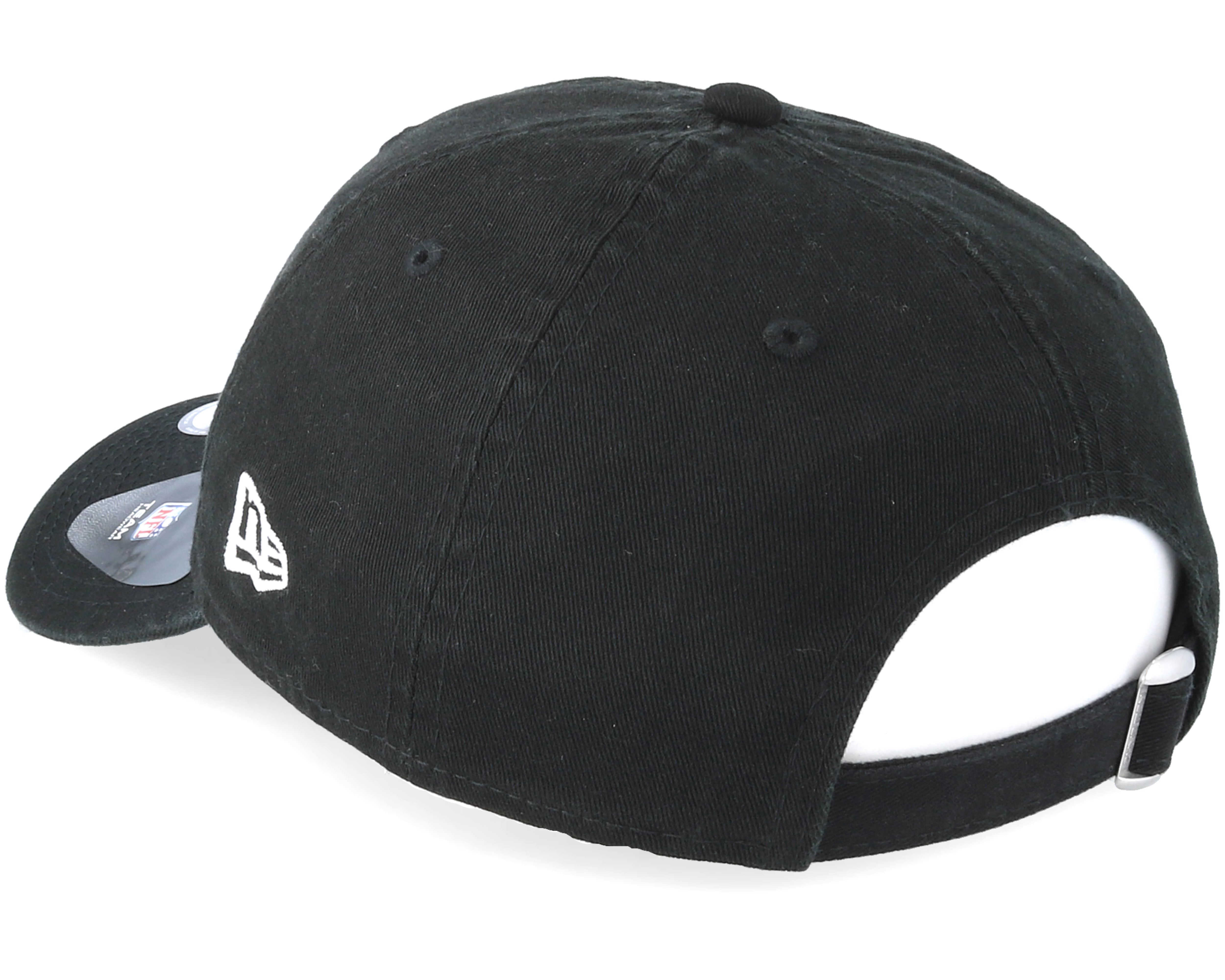 4fe971baaf953 Oakland Raiders Team 9Twenty Black Adjustable - New Era cap ...