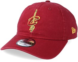 Cleveland Cavaliers Team 9Twenty Maroon Adjustable - New Era