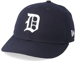 Detroit Tigers Coops Low Pro 59Fifty Off Navy/White Fitted - New Era