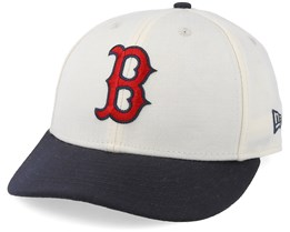 Boston Red Sox Coops Low Pro 59Fifty Off White/Navy Fitted - New Era