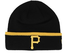 Pittsburgh Pirates Team Knit Black Cuff - New Era