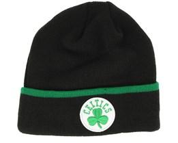 Boston Celtics Team Knit Navy Cuff - New Era
