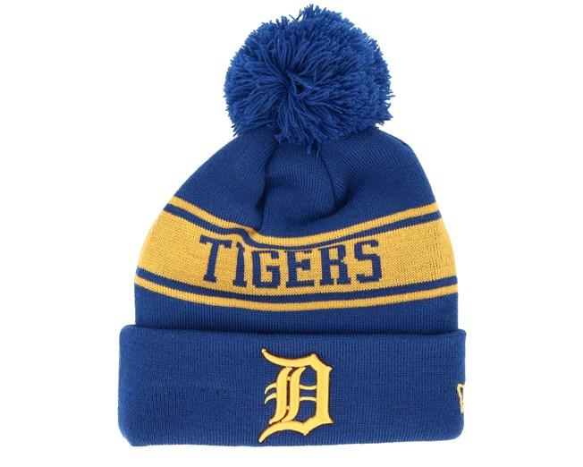 24ca4f2609210 Detroit Tigers Seasonal Jake Blue Pom - New Era beanies -  Hatstoreaustralia.com