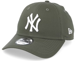 New York Yankees League Essential 9Forty Olive White Adjustable - New Era e225f849c4a