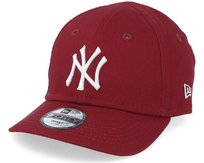 Kids New York Yankees League Essential 9Forty Cardinal White Adjustable - New  Era caps - Hatstoreaustralia.com c3ed90c535df