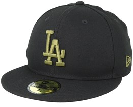 Los Angeles Dodgers 59Fifty League Essential Black/Olive Fitted - New Era