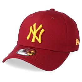 18b5d850336e New Era New York Yankees League Essential 39Thirty Cardinal Yellow Flexfit  - New Era £24.99