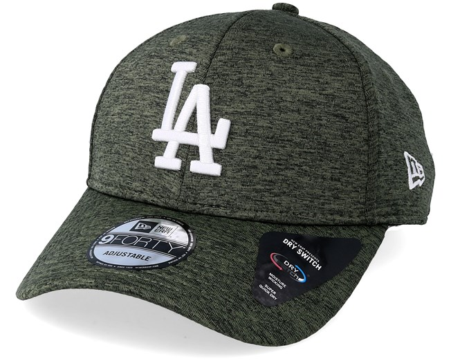 1ef0060edd2 Los Angeles Dodgers Dryswitch Jersey 9Forty Olive White Adjustable - New  Era caps - Hatstoreaustralia.com