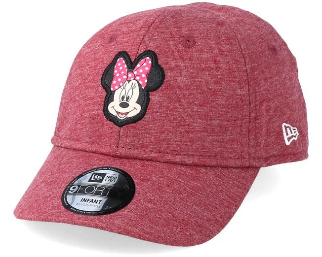 Kids Minnie Mouse Infant Jersey 9Forty Scarlet Adjustable - New Era - Start  Boné - Hatstore f02194d44a2