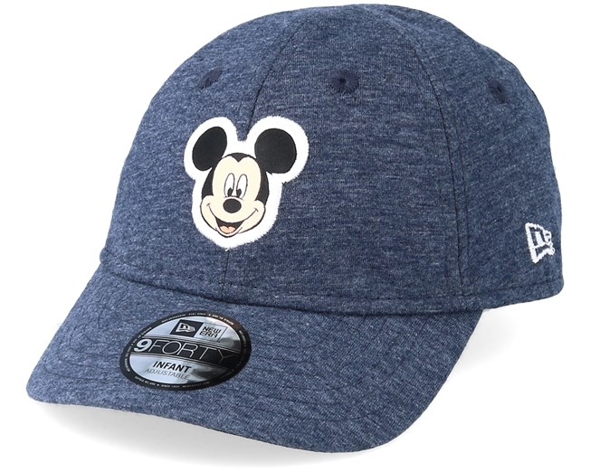 d66fb96b9b3 Kids Mickey Mouse Jersey 9Forty Navy Adjustable - New Era caps - Hatstore.ae