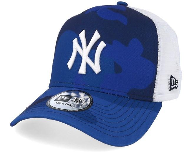 3d59d4325cd New York Yankees Color Blue Camo Trucker - New Era caps - Hatstoreworld.com