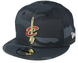 Cleveland Cavaliers 9Fifty Color Charcoal Camo - New Era