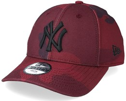 Kids New York Yankees 9Forty Red Camo Adjustable - New Era
