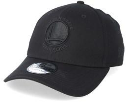 Golden State Warriors 39Thirty Black On Black Flexfit - New Era