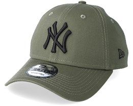 310e03b6585 New York Yankees League Essential Olive Black Adjustable - New Era
