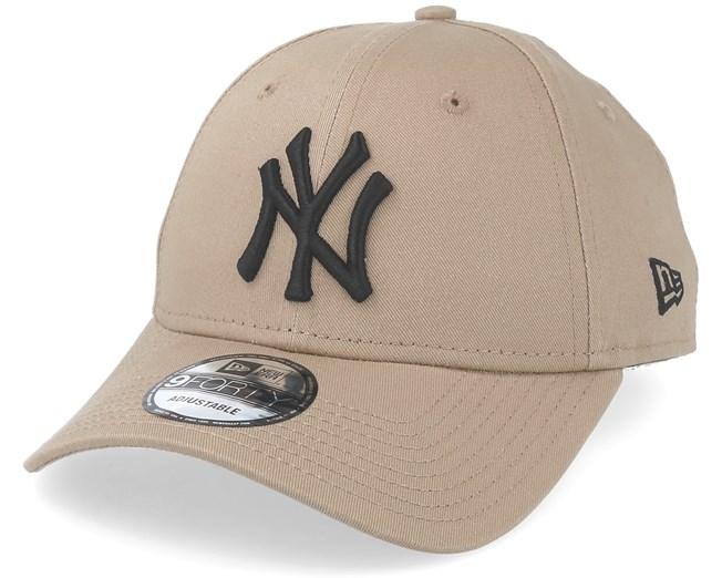 5e194493a0e5 New York Yankees League Essential Camel Black Adjustable - New Era -  casquette