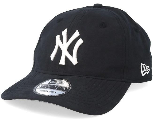buy online f472c 0e097 New York Yankees Packable 9Twenty Black White Adjustable - New Era caps -  Hatstoreaustralia.com
