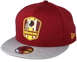 083a01163c714a Washington Redskins 9Fifty On Field Red Snapback - New Era