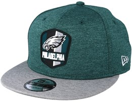 Philadelphia Eagles 9Fifty On Field Green Snapback - New Era