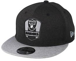 Oakland Raiders 9Fifty On Field Black/Grey Snapback - New Era