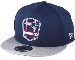 d8643b9214c3c New England Patriots 9Fifty On Field Blue Snapback - New Era