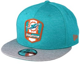 Miami Dolphins 9Fifty On Field Teal Snapback - New Era